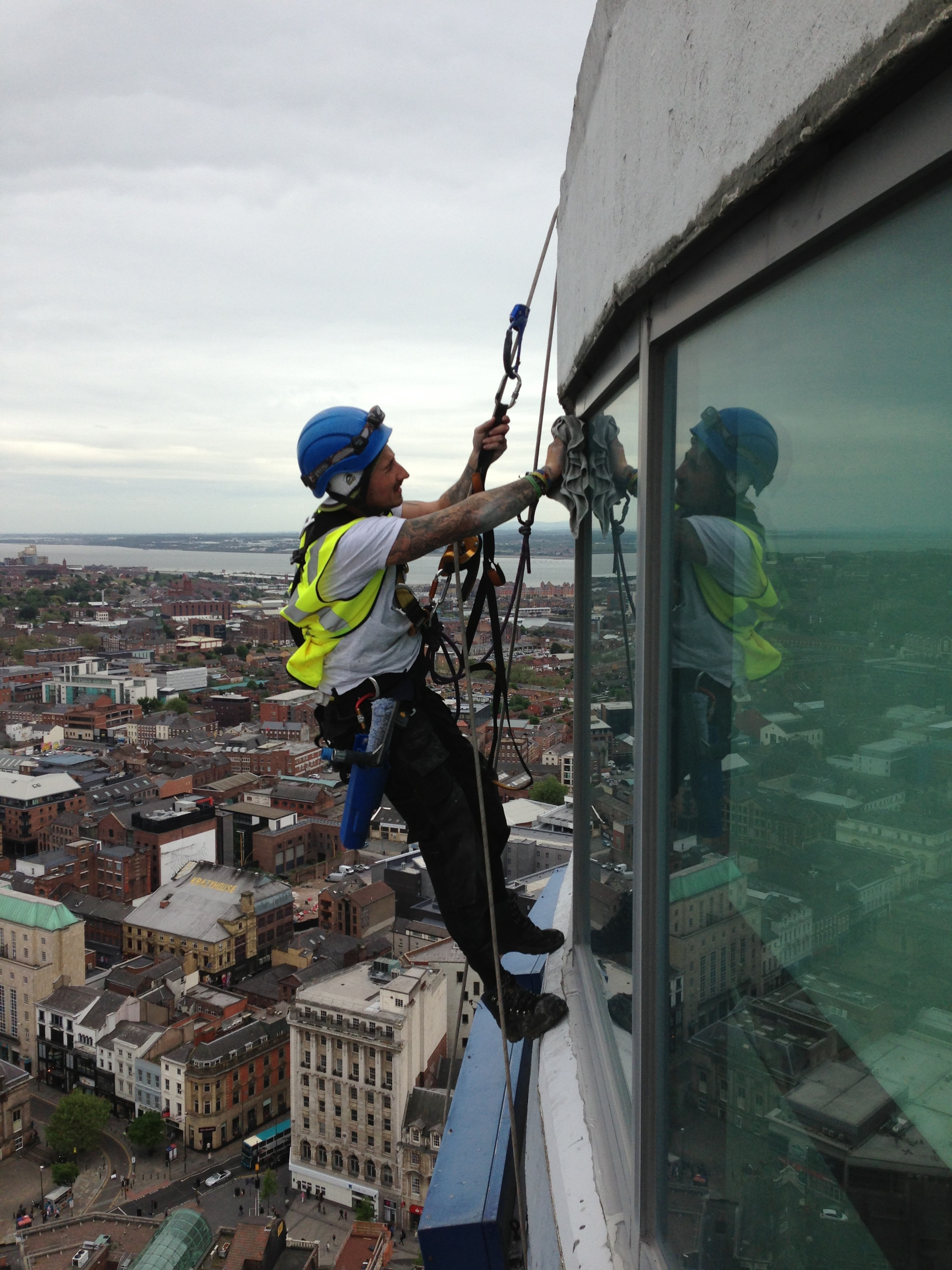 Window Cleaning North West Rope Access