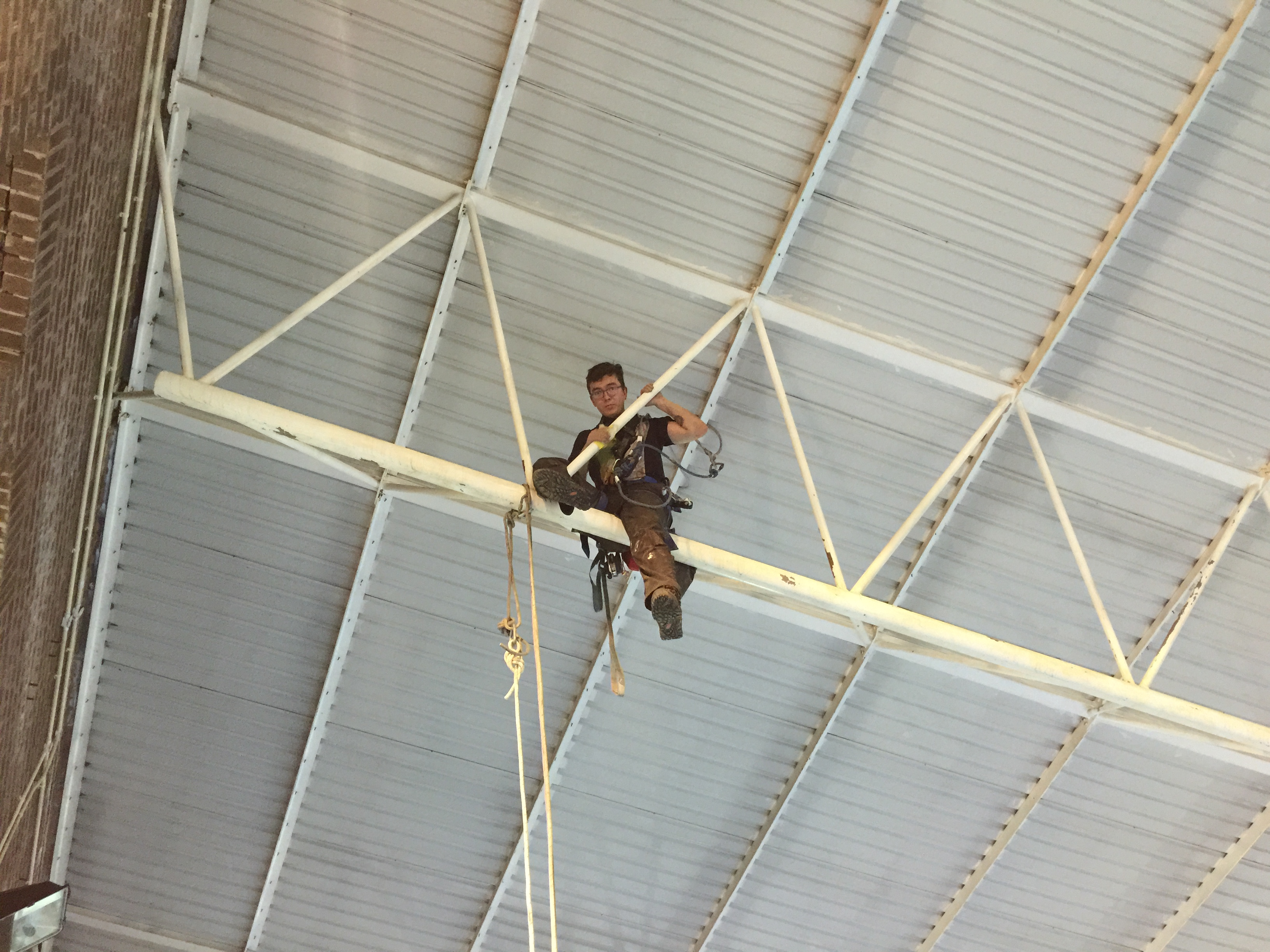 Dalton Leisure Centre Painting North West Rope Access