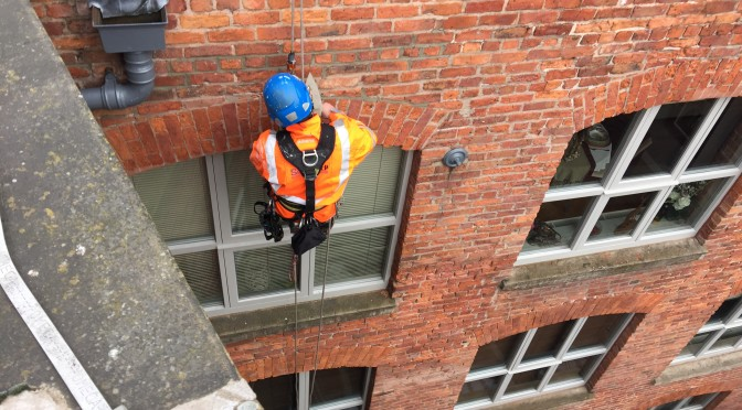 Repointing and lead work repair Royal Mills Manchester