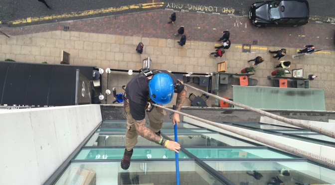 Window Cleaning Deansgate Manchester