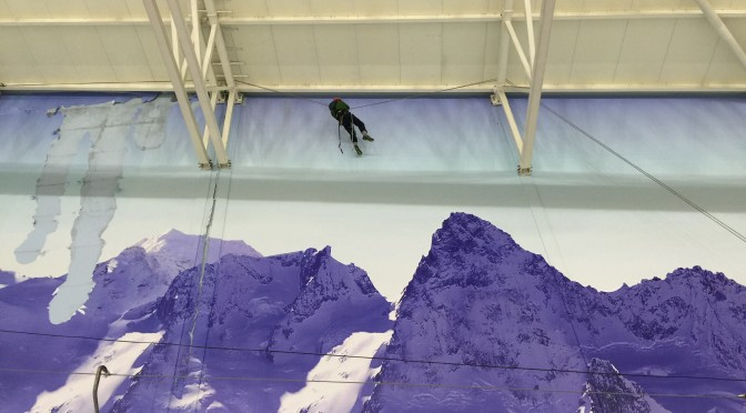 Ice removal Chill Factore Manchester