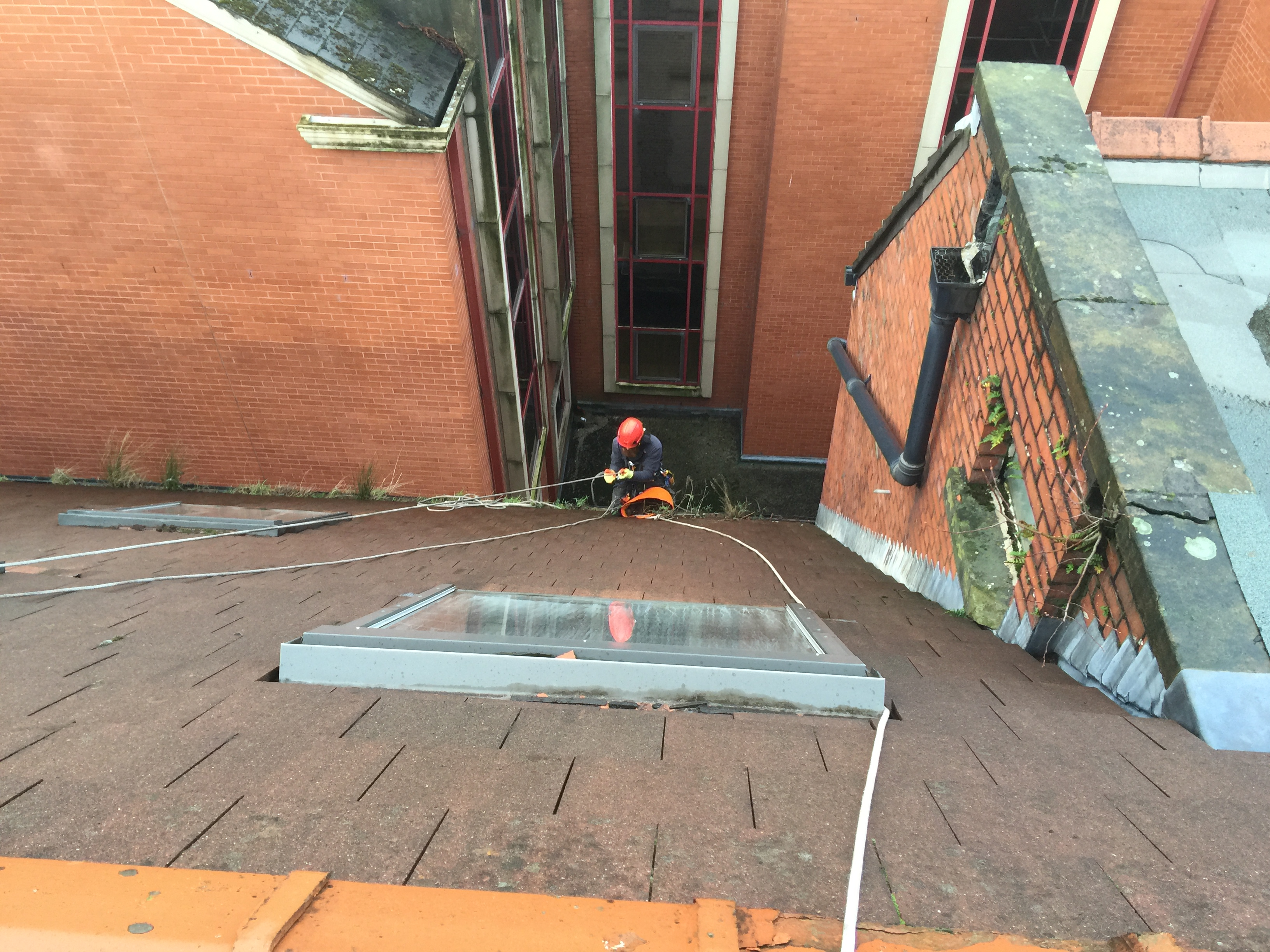 Gutter Cleaning Bolton North West Rope Access