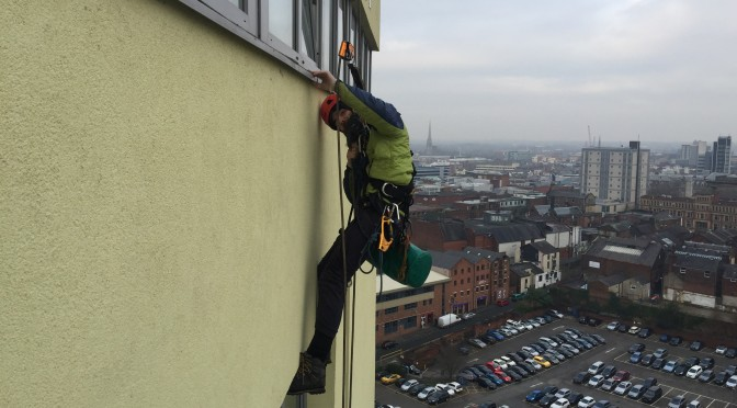 High rise maintenance Preston
