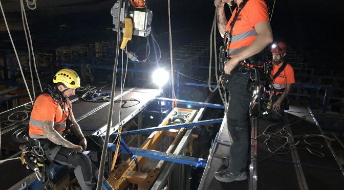 Warehouse Crane Refurbishment Project