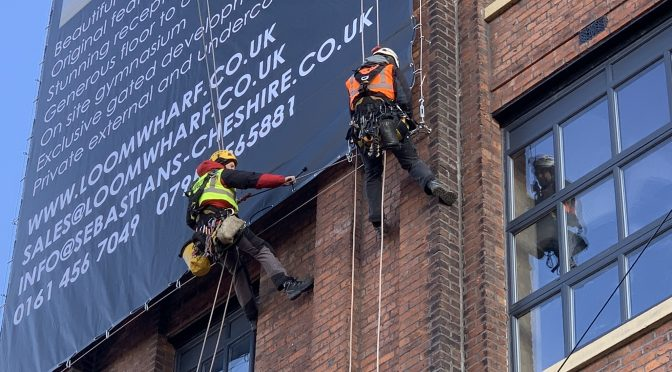 Large Format Banner Leigh
